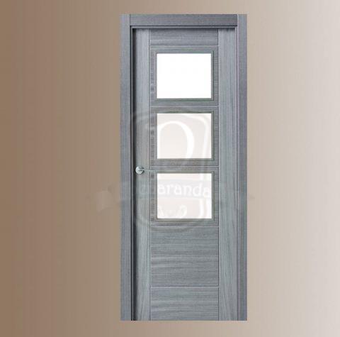 Puerta moderna puertas y ventanas pe aranda - Puertas de paso rusticas ...