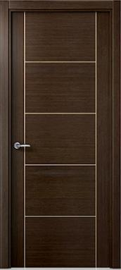 puerta moderna wengue