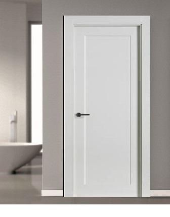 Puertas modernas interior puerta lisa en roble l puerta for Puerta 8500 proma