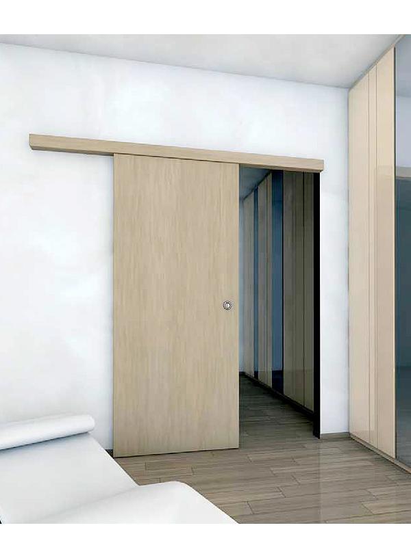 Casoneto puerta corredera pladur awesome puerta corredera for Puertas correderas bricor